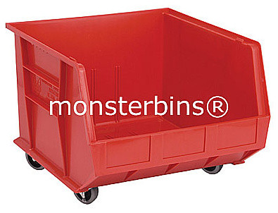 Plastic Bins On Wheels traditional-storage-bins-and-boxes