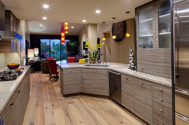 Gallery of Work contemporary-kitchen-cabinetry