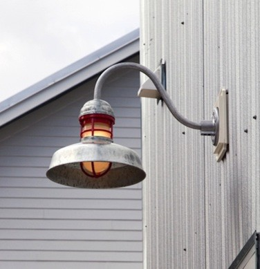 gooseneck light industrial exterior tampa by barn light. Black Bedroom Furniture Sets. Home Design Ideas