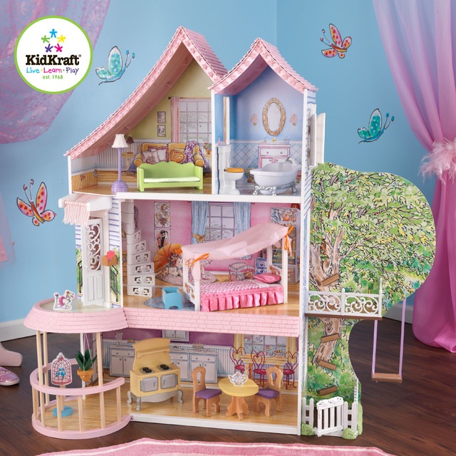 Kids Doll House Kidkraft Fancy Nancy Dollhouse