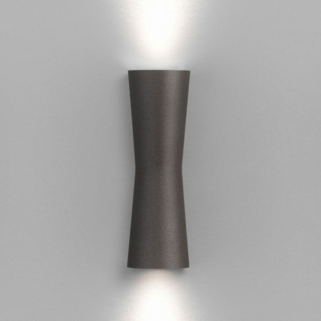 Wall Sconces Exterior : Clessidra 40 Deg Outdoor Wall Sconce - Modern - Outdoor Wall Lights And Sconces - by Lightology