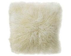 Flokati Pillow contemporary-pillows