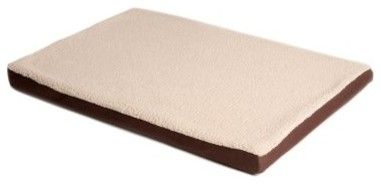 Great Paw Comfort Crate Memory Foam Dog Bed modern-dog-beds