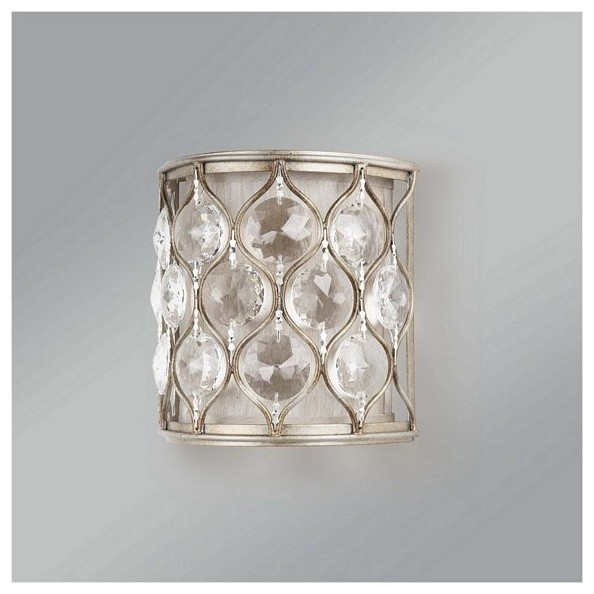 1 Bulb Burnished Silver Wall contemporary-wall-lighting