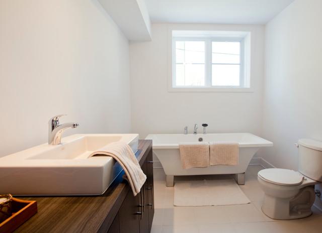 Salle de bain condo Aloès Terrasse bathroom