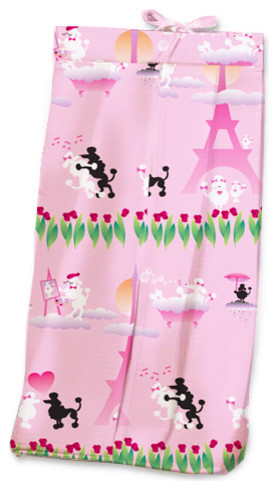 Poodles in Paris Diaper Stacker contemporary-kids-products