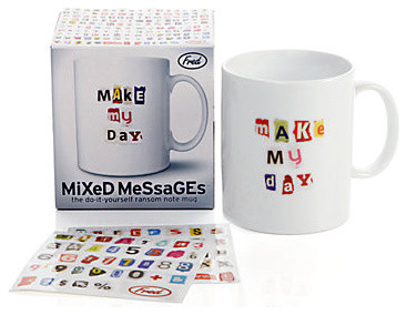 Mixed Messages Mug modern glassware