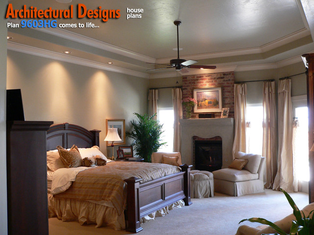 Architectural designs 4 bedroom european house plan 9603hg for European bedroom design