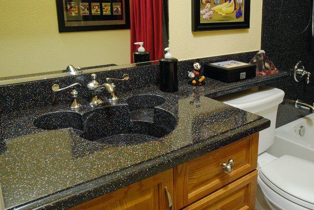 Custom made corian mickey mouse sink using the color for Corian sink accessories