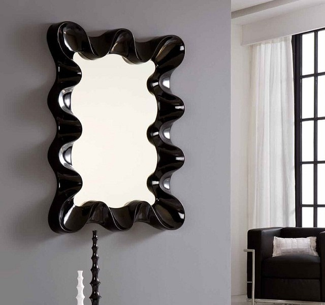 Black Contemporary Mirrors 4