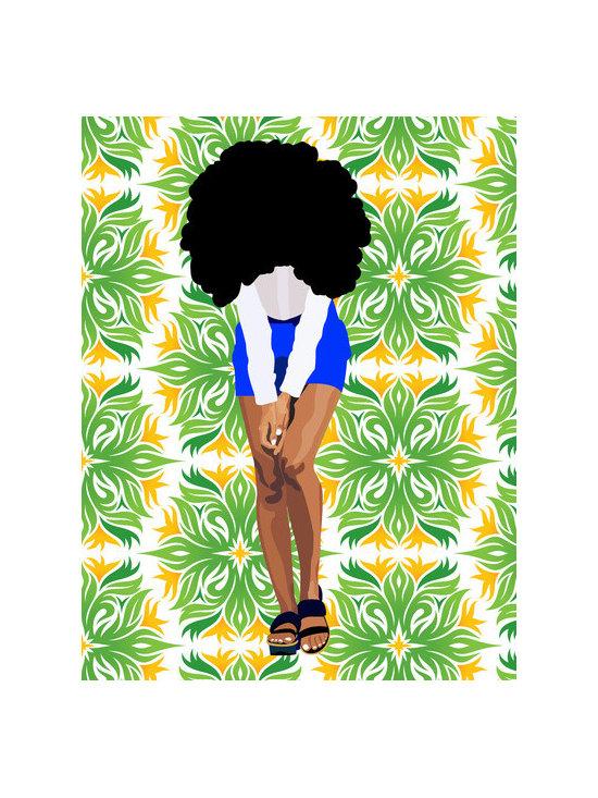 'Solange' Art Print by Natalie Blake -