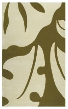 Walt Disney Rug Market Cream/Olive Neverland Area Rug modern-rugs