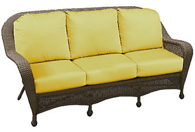 Winchester 3 Seat Sofa Cocoa contemporary-outdoor-chairs