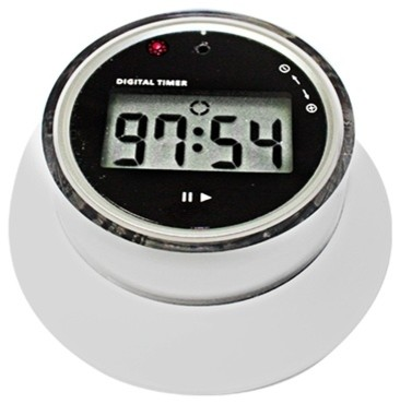 ... Timer with Time Adjust Knob and Magnetic Base modern-kitchen-timers