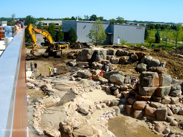 Worlds Most Extreme Ecosystem Pond Construction,Certified Aquascape Contractors traditional