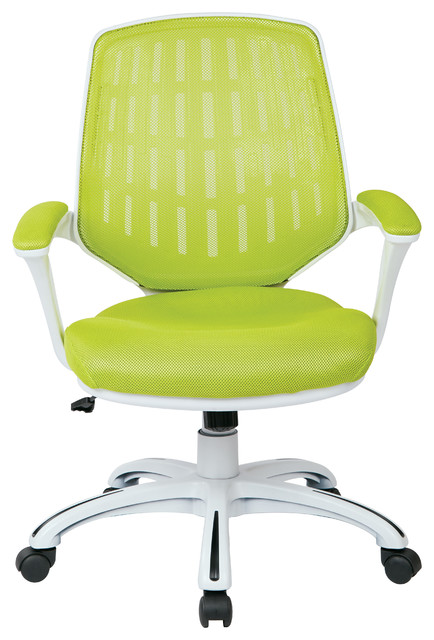 calvin office chair green contemporary office chairs