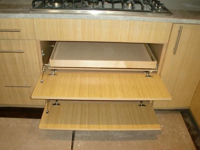 slide out shelves cabinet and drawer organizers boston. Black Bedroom Furniture Sets. Home Design Ideas