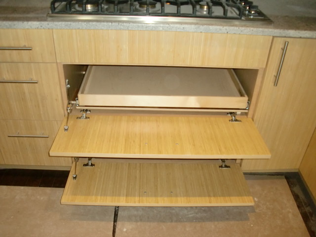 Slide Out Shelves kitchen-drawer-organizers