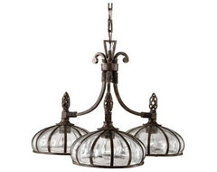 Palencia 3-Light Chandelier traditional chandeliers