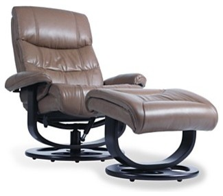 Rebel Recliner Chair with Ottoman traditional-recliner-chairs