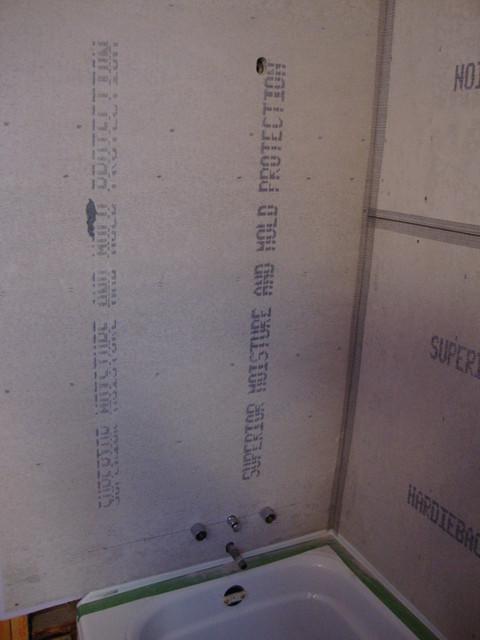 Ursula's Bathroom modern-powder-room