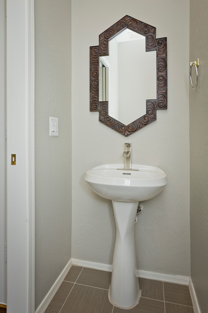 Scottsdale Condo modern powder room