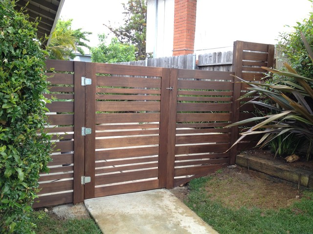 Custom Gates Contemporary Home Fencing And San