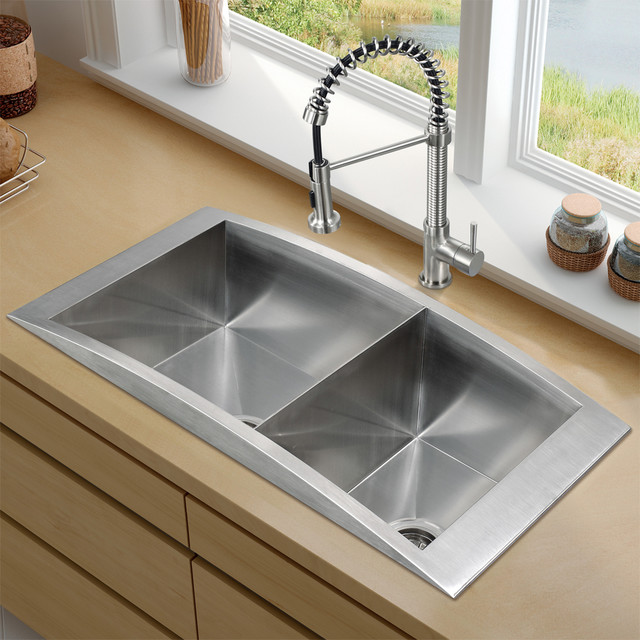 Platinum Series Topmount Kitchen Sink Combo Traditional Kitchen Sinks .