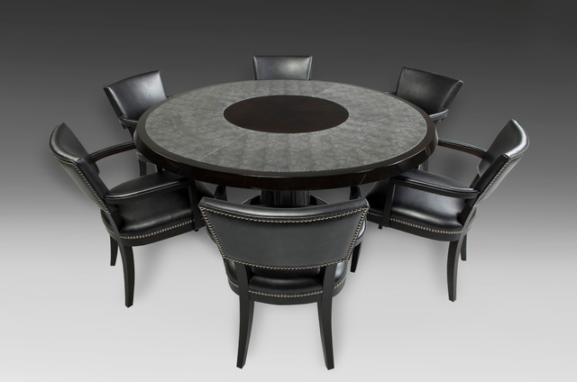 games table with chairs contemporary seattle by tjl On contemporary game table and chairs