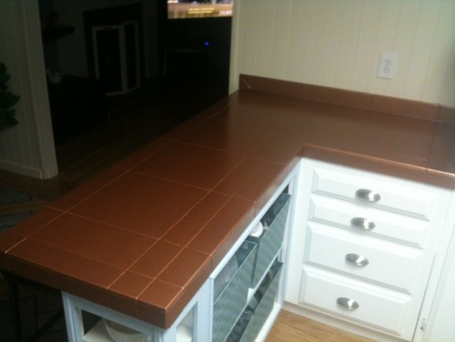 New old countertop Copper countertops cost