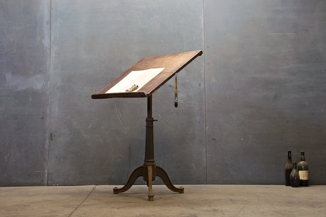 Tuileries Colorists Drafting Table traditional-desks