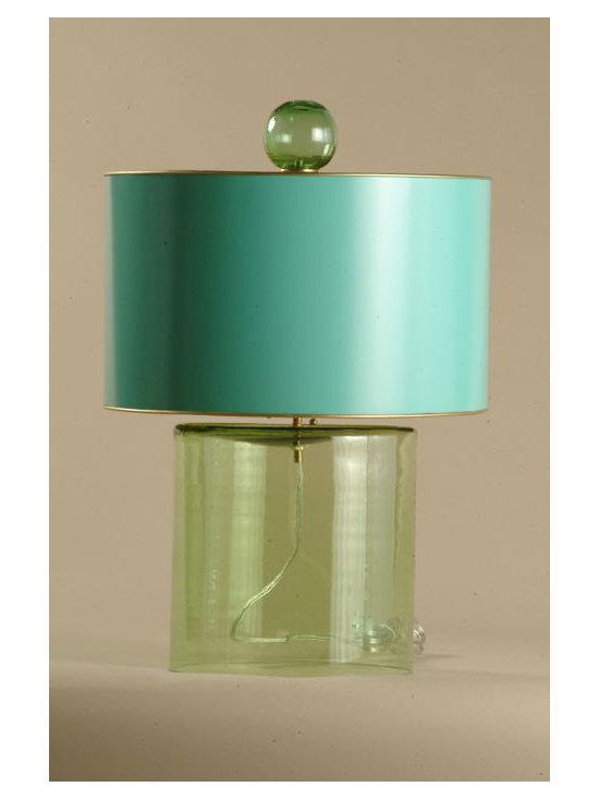 Glass Lamp -