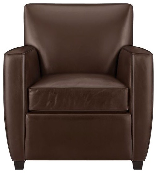 Streeter Leather Chair modern-living-room-chairs