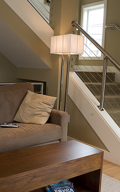 Gracie Towhomes contemporary-staircase