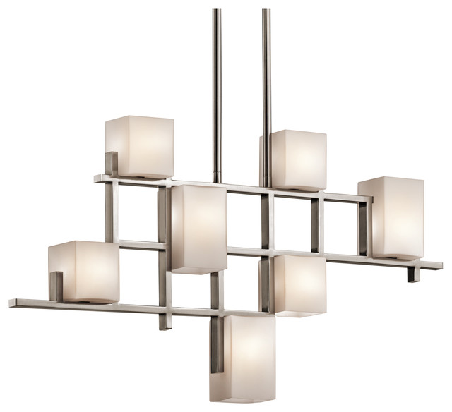 Linear Chandeliers - City Lights - 42941CLP modern-chandeliers