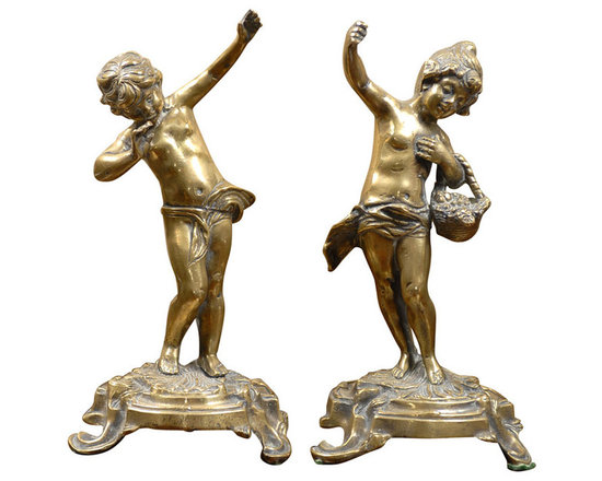 Current Inventory for Purchase - Bronze Rococo Figurines