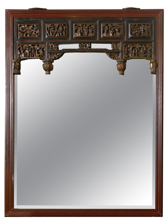 Current Inventory for Purchase - Carved Chinese Mirror
