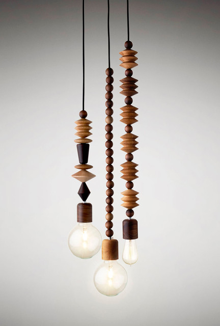 Bright Beads 3 Cluster Modern Pendant Lighting Other