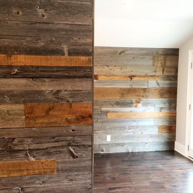 Barn Board Feature Walls