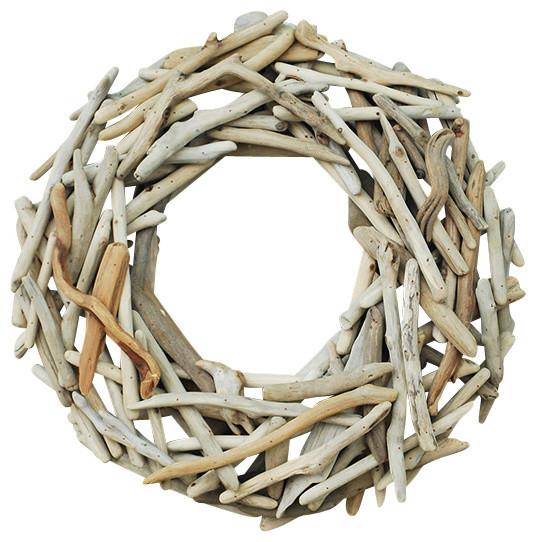 Driftwood Wreath - Beach Style - Home Decor - by Flora Pacifica, Inc.