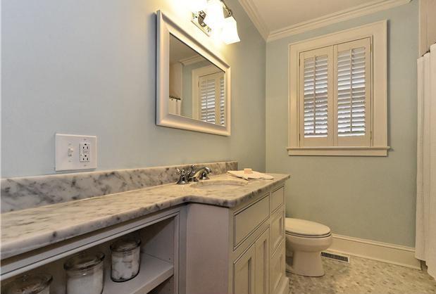 White Carrara Bathrooms traditional-bathroom