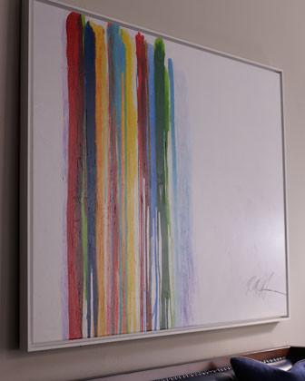 Rosenbaum Fine Art Spilled Stripes Giclee traditional-artwork