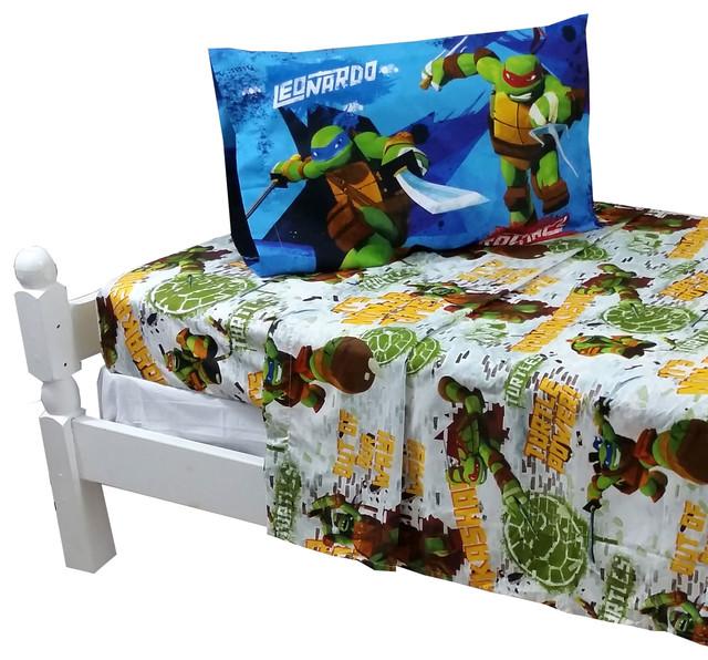 Tmnt Toddler Bed Set By Teenage Mutant Ninja Turtles Twin Sheets Tmnt  Turtle Power ...
