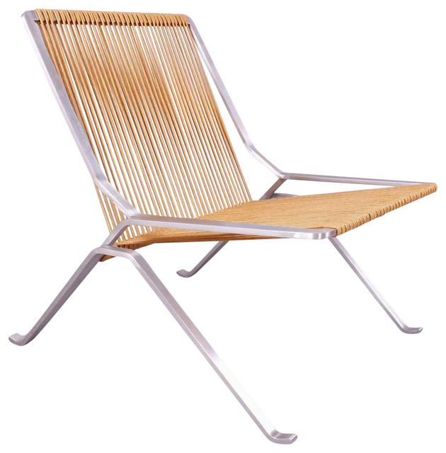 Alba mid century outdoor lounge chair contemporary for Century furniture chaise lounge
