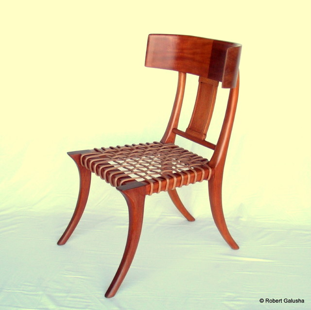 Klismos Chair In Mahogany