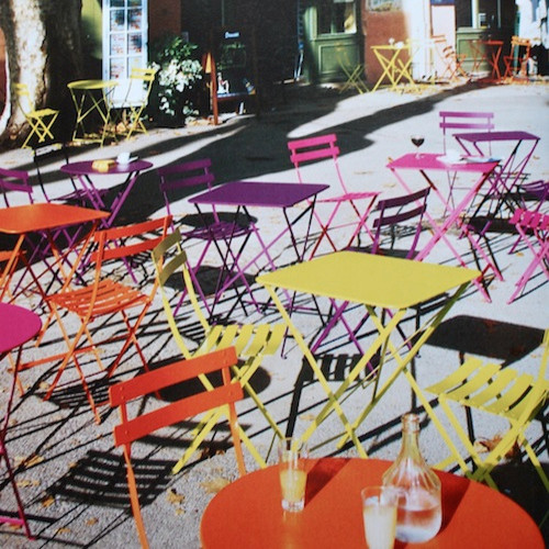 Fermob Bistro Table eclectic-outdoor-dining-tables