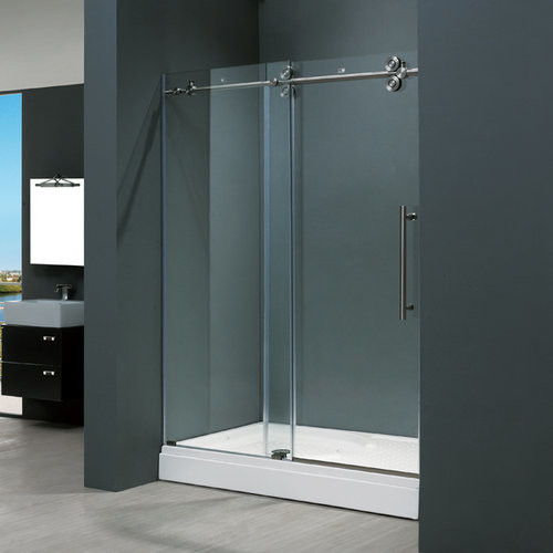Vigo Vg6041stcl6074 Clear Stainless Steel Shower Enclosures 60 Contemporary Shower Stalls
