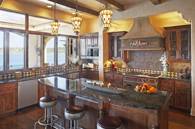 Palmieri Residence mediterranean kitchen