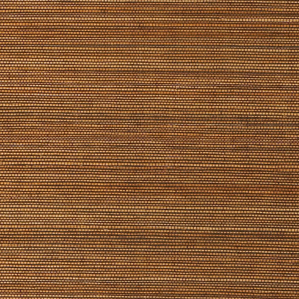 Duo Sisal Bronze Grass Cloth Wallpaper beach-style-wallpaper