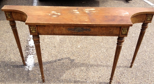 Annie Sloan Victorian Table Upcycle traditional